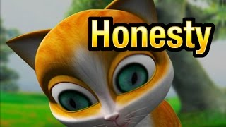 HONESTY : Malayalam Cartoon animation Story For children from Kathu