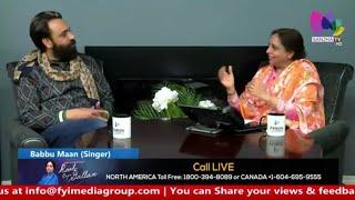 Babbu+Maan+%7C+Latest+Interview+%7C+Sanjha+TV+%7C+Canada