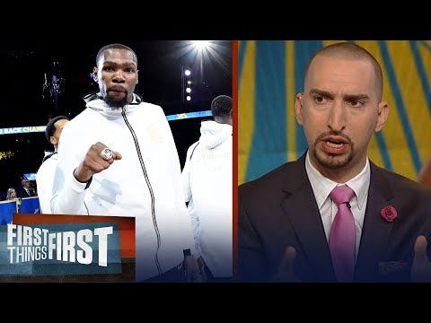 Nick Wright weighs in on how the Warriors dynasty will be remembered NBA FIRST THINGS FIRST