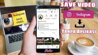 Cara Simpan | Mengambil  Video Instagram Tanpa Aplikasi | Tanpa Download