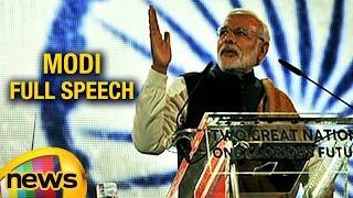PM Narendra Modi Full Speech At Wembley Stadium | Modi UK Visit | Mango News
