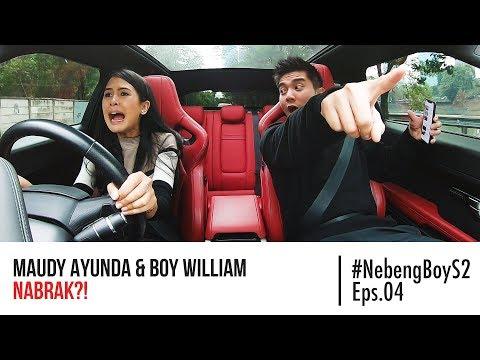 #NebengBoy S2 Eps. 4 - Maudy Ayunda HAMPIR NABRAK Nyupirin Boy William