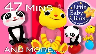 Boing Boing Bounce Bounce | Plus Lots More Nursery Rhymes | 47 Mins Compilation from LittleBabyBum!