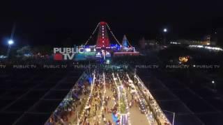 Drone captures Male Mahadeshwara Temple car festival, Chamrajnagar