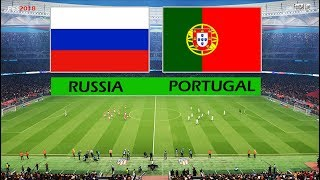 PES 2018 | RUSSIA vs PORTUGAL | Full Match & Amazing Goals | Gameplay PC