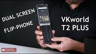 Dual-Screen Flip Smartphone VKworld T2 Plus - GearBest
