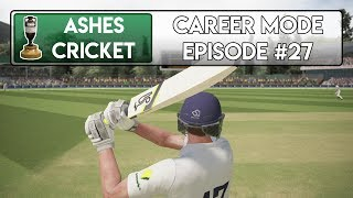 THE DOUBLE UP? - Ashes Cricket Career Mode #27