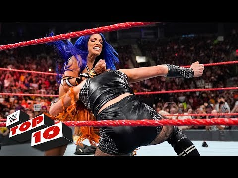 Top 10 Raw moments WWE Top 10 Aug. 12 2019