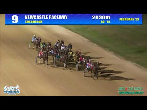 Xxx Mp4 NEWCASTLE 23 02 2018 Race 9 XXXX GOLD PACE 3gp Sex
