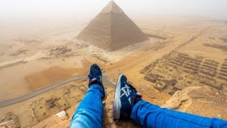 Watch This Teen Illegally Climb Egypt