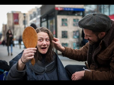 Xxx Mp4 The Hairdresser Giving Free Haircuts To The Homeless 3gp Sex