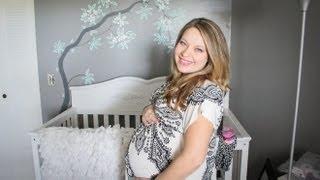 34 WEEKS PREGNANT    Nursery Updates, Pelvic Pressure, the Belly!