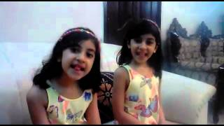 Cute Funny Story by Innocent twins Pakistani baby Girls - Loved It!