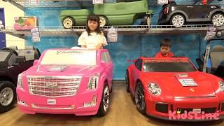 トイザらスでお買い物inカナダ おもちゃ選び お出かけ こうくんねみちゃん TOYS FOR KIDS! TOY HUNT Shopping Trip for Toys for Tots