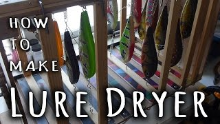 How To Make Lure Dryer - Trailer