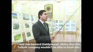 Video Captures Turkmen President Bullying Officials
