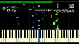 BLACKMORE'S NIGHT - UNDER A VIOLET MOON - SYNTHESIA (PIANO COVER)