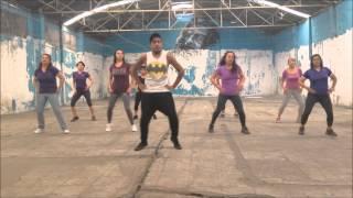 metela sacala '' el chevo''  top dance latino zumba fitness
