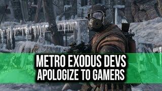 METRO EXODUS apologizes for Dev threatening PC gamers