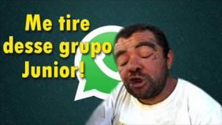Áudio engraçado do whatsapp - Me tire desse grupo Junior