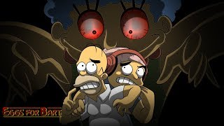 HOLD UP MARGE!! A SIMPSONS HORROR GAME!?? [EGGS FOR BART]