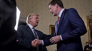 Trump addresses Russia probe, GOP health bill in danger