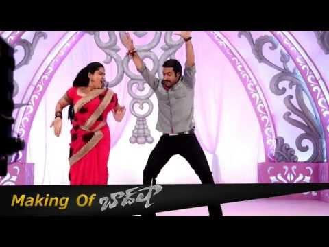 NTR And Pragathi Dancing For SR NTR Song HD - Baadshah Sangeeth Making