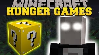 Minecraft: SLENDER HUNGER GAMES - Lucky Block Mod - Modded Mini-Game