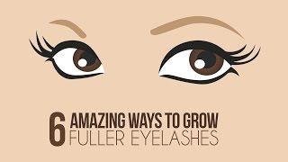6 Ways To Naturally Grow Longer Eyelashes - Glamrs