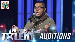Pilipinas Got Talent Season 5 Auditions: Raynier Dalde - Singer with Operatic Voice