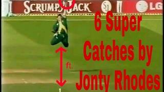 6 Super Catches by Jonty Rhodes