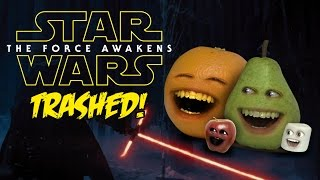 Annoying Orange - STAR WARS TRAILER Trashed!!