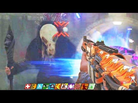 SHAOLIN SHUFFLE - RAT KING BOSS FIGHT EASTER EGG HUNT WALKTHROUGH! (Infinite Warfare Zombies)