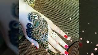 New lovely mehandi desine for hand and leg