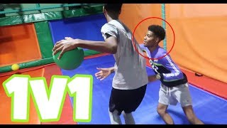 TRAY LOSES $1000 TO A SUBSCRIBER!!! (1V1 BASKETBALL)