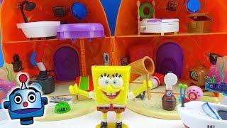 Casa de Bob Esponja Casa Piña SpongeBob Pineapple House Playset - Juguetes de Bob Esponja