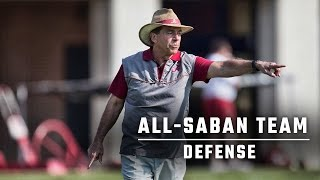 Drafting the ultimate All-Saban defense