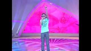 LEANDRO VINICIUS - Jesus está vindo 08/12/12 Jovens Talentos Kids Raul Gil