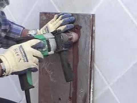Perforacion de porcelanico drill tile