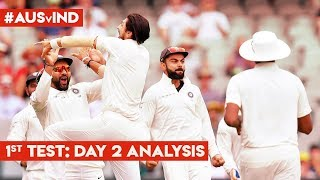 #AUSvIND: INDIA's bowlers strike back: #AakashVani