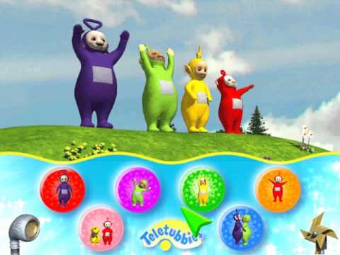 Let s Play Teletubbies 2 Favorite Games Part 3