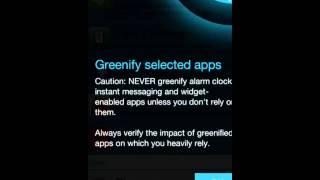 How to Setup Greenify?