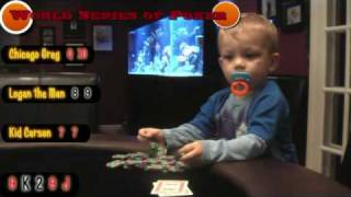 Kids at the world series of poker