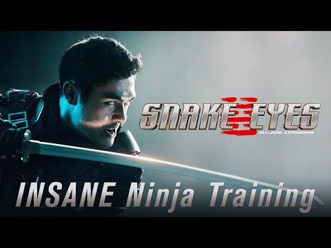 INSANE Ninja Training Snake Eyes