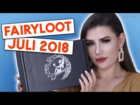 Xxx Mp4 Fairyloot Unboxing Juli 2018 Sara Bow Books 3gp Sex