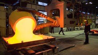 Amazing Automatic Melting Aluminum Manufacturing Factory, Cast Aluminum Process Using Sand Mold