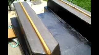 Homemade Plywood Boat Pt30(Fiberglassing Problems)