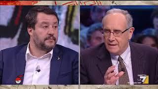 Matteo Salvini sui vertici militari irritati: 'Di ordine pubblico mi occupo io'