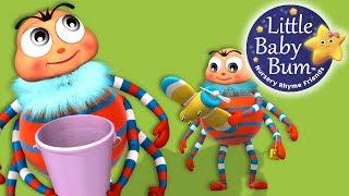Incy Wincy Spider | Part 2 | Nursery Rhymes | by LittleBabyBum!