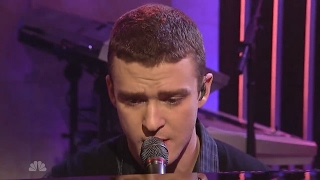 Justin Timberlake - What Goes Around ... Comes Around (On SNL 2006) HD